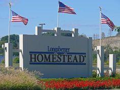Longaberger Homestead sign - Ohio