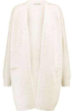 Shop on-sale Vince Waffle-knit wool-blend cardigan. Browse other discount designer Knitwear & more on The Most Fashionable Fashion Outlet, THE OUTNET.COM