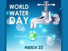 Water is life so don't hit your life. Every drop counts so on this World Water Day let's oath to save water and tell others to do. #WorldWaterDay