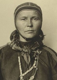 Laplander - Sami woman from Finland,   Augustus F. Sherman- Ellis Island Portraits 1905-1920
