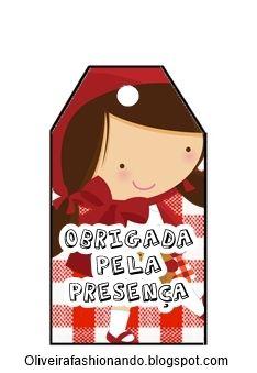 Kit Chapeuzinho Vermelho Para Imprimir Festa Da Chapeuzinho