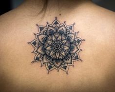 Dynamic mandala flower by Kristi Walls