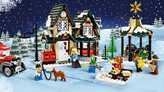 LEGO Christmas Winter Village Post Office