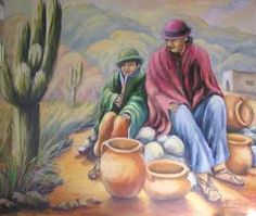 pinturas del norte argentino - Buscar con Google Paintings I Love, Love Painting, Animal Paintings, Peruvian Art, Mexican Artists, Antique Photos, Folk Art, Canvas Art, Mexico