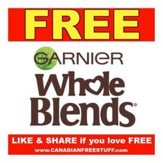 Garnier FREE Sample for Canada 2018 ~ Limited Quantities Available