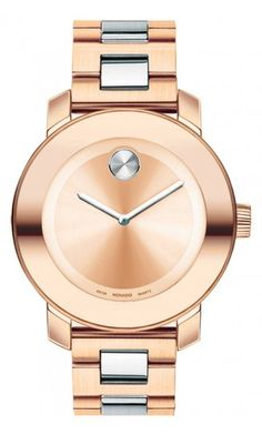 Movado Bold in Rose Gold.... For Him ;)