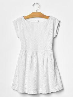 Eyelet dolman dress Product Image