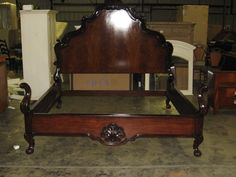 thomasville furniture warm cherry king street king sleigh bed