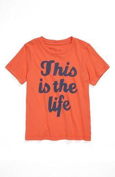 Peek 'This Is the Life' T-Shirt (Toddler Boys, Little Boys & Big Boys) | Nordstrom