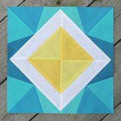 Starry Night Paper Pieced #Quilt Block