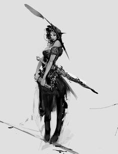 Lady Pirate...