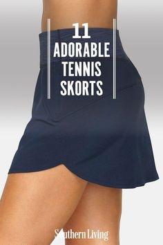 From longer options to punchy prints, these 11 stylish tennis skorts will have you ready and inspired to turn back the clock. #tennisskorts #tennisskirts #southernstyle #southernliving
