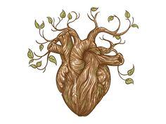 Nature Heart by Akmal Abdurrahman