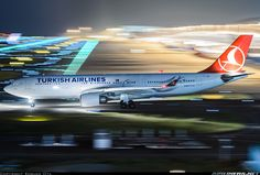 Airbus A330-203 - Turkish Airlines | Aviation Photo #3896819 | Airliners.net Airline Cabin Crew, Cargo Aircraft, Turkish Airlines, Commercial Aircraft, Air Travel, Osaka, Aviation, Around The Worlds, Aim High