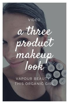 Check out this Vapour makeup video for an easy, 5 minute look that only uses THREE products! Vapour is 70% organic, simple to use and makes my skin glow! #thisorganicgirl #vapourorganicbeauty #organicmakeup #organicskincare #easymakeuplook #5minutemakeup via @thisorganicgirl