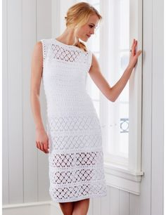 Neatly crochet dress S-XL