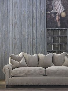 Driftwood wallpaper  Andrew Martin - New Collections