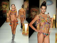 Spirited Route: Moda Colombiana. Daily Style, My Style, Daily Fashion, Color Inspiration, Bikinis, Swimwear, Spirit, Sun Kissed, Hair