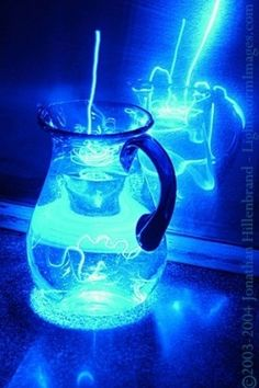 Electric Blue cocktail! Cheers from #bluespa:) Happy Sunday...