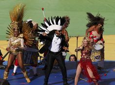 World Cup Closing Ceremony: Quick and Painless #soccer #football #shakira