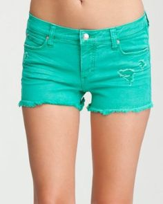 9. Shorts for daytime outing (Destructed Color Cutoff Short)  #bebe #wishesanddreams