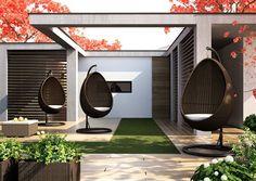 cocoon sada vajicok z umeleho ratanu hneda Garden Furniture, Outdoor Decor, Design, Home Decor, Brown, Outdoor Garden Furniture, Decoration Home, Room Decor, Lawn Furniture