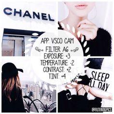 black and white instagram feed VSCO filter A6