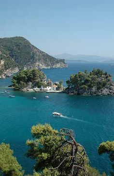 Corfu, Greece - rent a boat to explore the islands