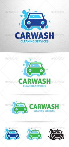 Car Wash Logo v3