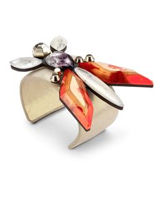 arm yourself with gems - cuff by Patrizia Pepe