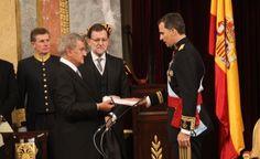 Juramento y la proclamación de Su Majestad el Rey Felipe VI
