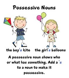 "possessive nouns  Awesome blog for 2nd grade teachers. This teacher teaches ""Treasures""."