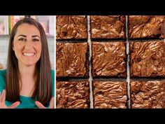 Best Brownies Ever This really is the Best Brownie Recipe ever! These homemade brownies are the perfect chewy fudge squares of chocolate. You'll never buy a boxed brownie mix again! Beste Brownies, Fudgy Brownies, Chocolate Brownies, Chocolate Truffles, Chocolate Chips, Best Brownie Recipe, Brownie Recipes, Chef Recipes, Baking Recipes