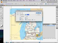 Part 1 of 9: Adobe Illustrator map tutorial SIZING REF. MAP, LAYERS - YouTube