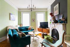 Цветовые схемы для гостиных на любой вкус (часть 1)    .