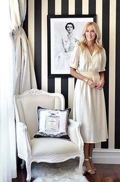 Megan is drawn to feminine, classic pieces in homewares and fashion