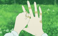 Aesthetic Images, Aesthetic Anime, Aesthetic Green, Gifs, Anim Gif, Taehyung, Anime Pictures, Wolf Children, 8 Bits