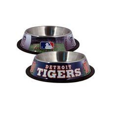 MLB Hunter MFG Detroit Tigers Dog Bowl