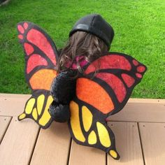 Halloween is next week! So I'll be spending this weekend making my daughter's costume. Here are some really cool costumes on Etsy: I love t. Cool Costumes, Costume Ideas, Halloween Costumes, Butterfly Baby, Butterfly Wings, Bug Costume, Jade, To My Daughter, Birds