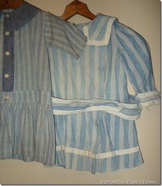 Vintage Clothing, mainly blues