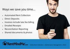 RentMindMe - Property Management software for DIY Landlords Rental Property, Property Management, Being A Landlord, Save Yourself, Effort, Saving Money, Manual, Diy, Textbook