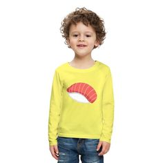 Geschenke Shop | Sushi - Kinder Premium Langarmshirt Baby Kind, Kind Mode, Babys, Graphic Sweatshirt, Sweatshirts, Sweaters, Fashion, Scubas, Ocean