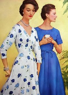 Evelyn Tripp (L) & Mary Jane Russell