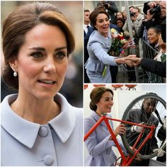 The Duchess on her first solo overseas engagement in the Netherlands