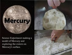 Mercury Science Project for Solar System Unit for Kids is great when learning about the solar system. They can make their own solar system to help learn and remember the order of the planets. This is a fun way to get all students involved. Planets Activities, Solar System Activities, Space Activities For Kids, Solar System Crafts, Solar System Planets, Kid Science, Science Experiments Kids, Learn Science, Teaching Science