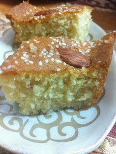 עוגת סולת קלה קלה