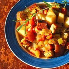 Savory Herbed Tempeh Stew