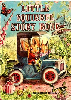 Little Squirrel Story Book