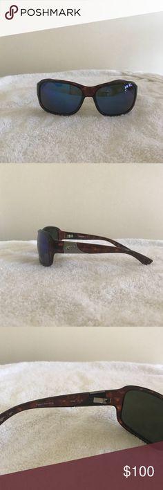 Costa Del Mar Inlet Sunglasses Inlet style — tortoiseshell frames with 580 plastic polarized lenses Costa Del Mar Accessories Sunglasses