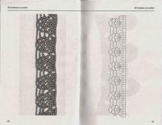 60 bordures au crochet - Les tricots de Loulou - Picasa-Webalben